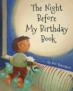 The Night Before My Birthday Book Front Jacket Image